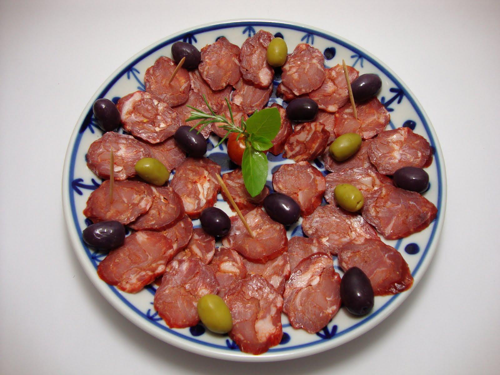 Prato de salpicão português