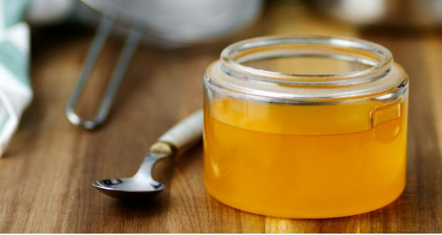 manteiga ghee líquida