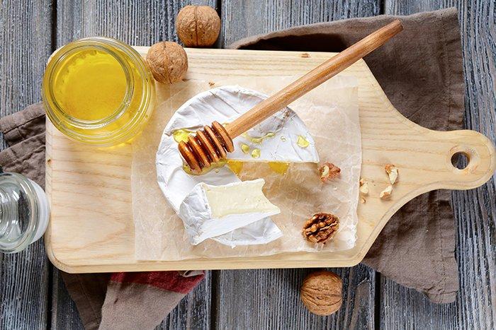 mel e queijo