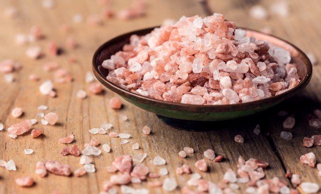 kit 5 sais - sal rosa